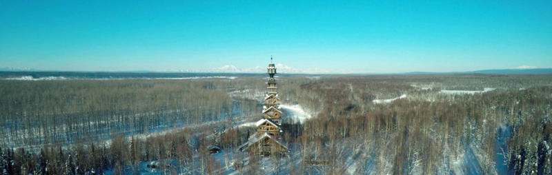 Custom Flight Charters to Dr Seuss House Alaska Legends Aviation